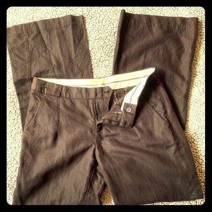 Banana Republic woman's Linen/cotton trousers SZ.8